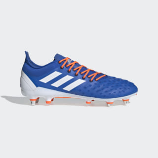 Predator XP Soft Ground Boots Blue / Cloud White / Solar Orange F35768