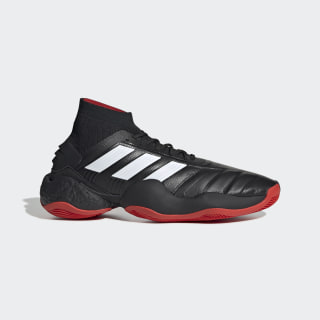 Zapatillas Predator 19.1 Año 25 Core Black / Cloud White / Red EE8422