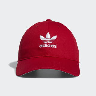 Strap-Back Relaxed Hat Scarlet CL5250