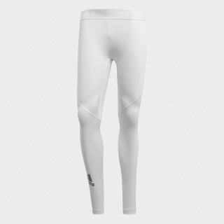 Tight lunghi Alphaskin Sport White CD7195