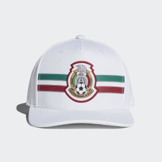 Gorra Mexico Flat-Brim 2018 WHITE/COLLEGIATE BURGUNDY/COLLEGIATE GREEN CF5159