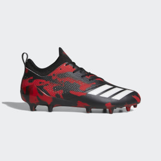 adizero Tagged Cleats Core Black / Cloud White / Power Red DB0622
