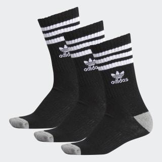 Roller Crew Socks 3 Pairs Multicolor BH6442
