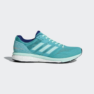 Adizero Boston 7 Shoes Hi-Res Aqua / Clear Mint / Mystery Ink BB6498