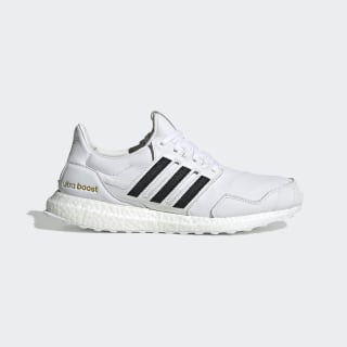 Ultraboost DNA Shoes Cloud White / Core Black / Gold Metallic EH1210