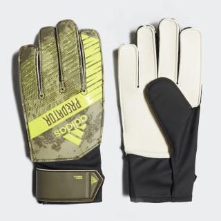 Brankárske rukavice Predator Training Junior Raw Khaki / Trace Olive FJ5920