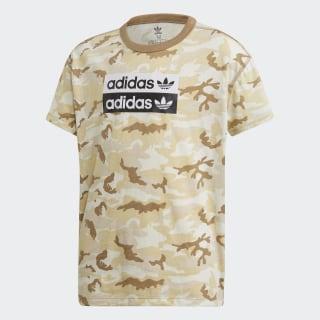 R.Y.V. Camouflage T-Shirt Multicolor / Cardboard ED7890