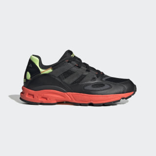 LXCON 94 Shoes Core Black / Grey Six / Solar Red EE6257