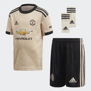 Manchester United Away Mini Kit Linen DX8943