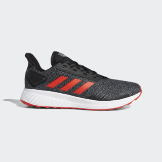 Duramo 9 Shoes Core Black / Active Red / Grey Four G28902