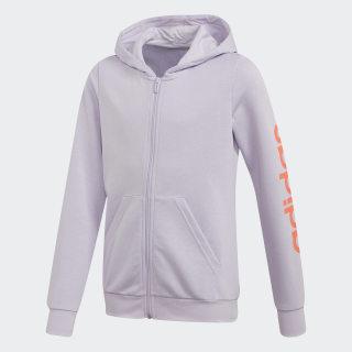 Chaqueta con capucha Linear Purple Tint FM6978