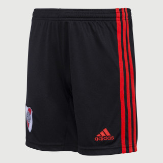 Shorts Uniforme Titular River Plate Black / Power Red DX5929