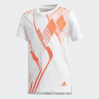 Predator T-shirt White / Solar Red DJ1261