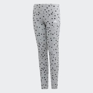 Calça Legging Estampada Must Haves Medium Grey Heather / Black / White ED4610