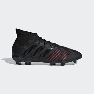 Bota de fútbol Predator 19.1 césped natural seco Core Black / Core Black / Active Red D97997