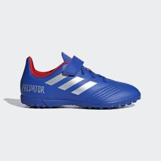 Футбольные бутсы Predator Tango 19.4 TF bold blue / silver met. / active red CM8559