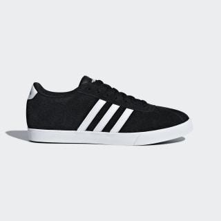 Courtset Shoes Core Black / Cloud White / Matte Silver B44619