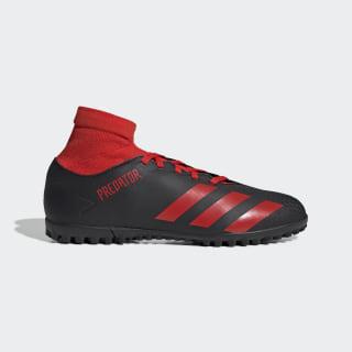Calzado de fútbol Predator 20.4 S Pasto Sintético Core Black / Active Red / Core Black EE9584