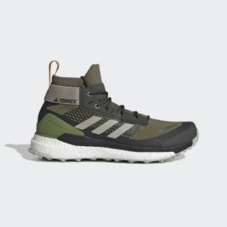 Terrex Free Hiker GTX Hiking Shoes Raw Khaki / Sesame / Tech Olive G26537