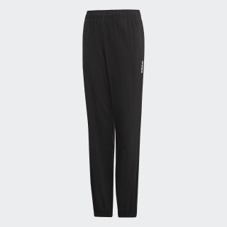 Essentials Plain Stanford Pants Black / White DV1767