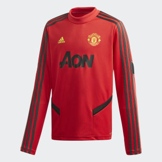 Manchester United Training Top Collegiate Red / Solid Grey DX9040