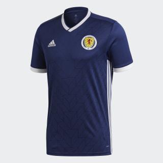 Домашняя игровая футболка сборной Шотландии dark blue / white BR8131