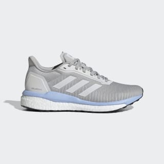 Кроссовки для бега Solar Drive 19 grey two f17 / ftwr white / glow blue EF0780