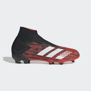 Chaussure Predator Mutator 20+ Terrain souple Core Black / Cloud White / Active Red EF1976
