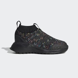 RapidaRun Laceless Shoes Core Black / Shock Cyan / Active Red D97019