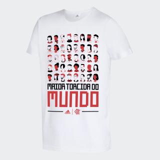 Camiseta maior torcida do mundo CR Flamengo Black EW8135