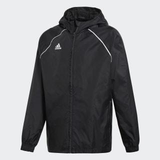 Core 18 Rain Jacket Black / White CE9047