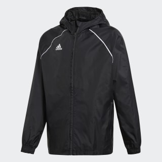 Core 18 Regenjacke Black/White CE9047