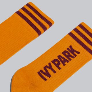 IVY PARK Logo Çorap - 3 Çift Dash Grey / Solar Orange / Maroon GK7377