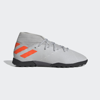 Botines Nemeziz 19.3 Césped Artificial Grey Two / Solar Orange / Chalk White EF8303