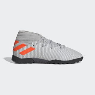 Calzado de Fútbol Nemeziz 19.3 Césped Artificial Grey Two / Solar Orange / Chalk White EF8303