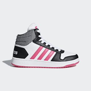 Zapatillas VS Hoops Mid 2.0 CORE BLACK/REAL PINK S18/FTWR WHITE DB1949