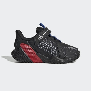 Star Wars 4UTURE Runner Shoes Core Black / Team Royal Blue / Solar Red EF9493