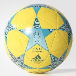 Balón Finale Cardiff Capitano BRIGHT YELLOW/CLEAR AQUA/ENERGY BLUE AZ5205