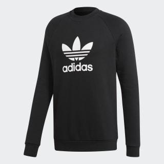 Trefoil Warm-Up Sweatshirt Black CW1235