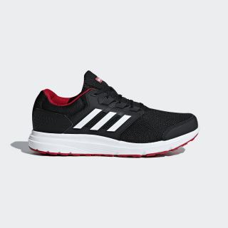 Galaxy 4 Shoes Core Black / Cloud White / Scarlet B44622