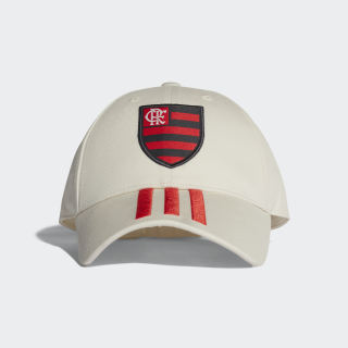 Boné 3-Stripes CR Flamengo WHITE CHALK/HI-RES RED S18 CY5540