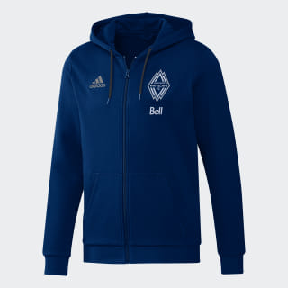 Vancouver Whitecaps FC Travel Jacket Deep Sea / Matte Silver EI6194