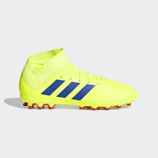 Nemeziz 18.3 Artificial Grass Boots Solar Yellow / Football Blue / Active Red D98020