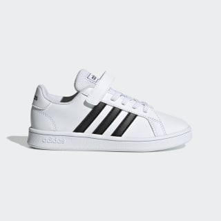 Grand Court Shoes Cloud White / Core Black / Cloud White EF0109