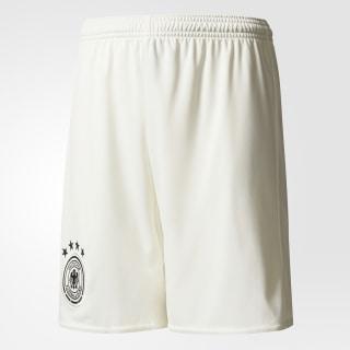 Pantalón corto segunda equipación Alemania UEFA EURO 2016 Off White / Black AA0121