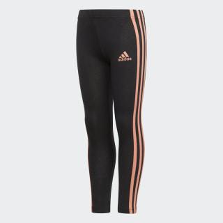 Calça Legging Little Girls Cotton BLACK/CHALK CORAL S18 CF6616