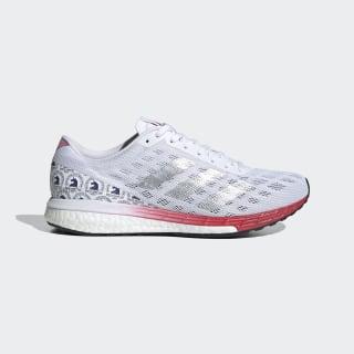 Adizero Boston 9 Shoes Cloud White / Silver Metallic / Scarlet FY4641