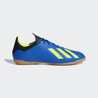 Calzado de Fútbol X Tango 18.4 Bajo Techo FOOTBALL BLUE/SOLAR YELLOW/CORE BLACK DB2482