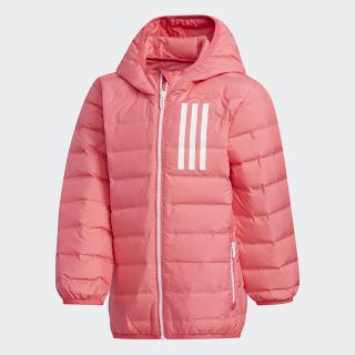 Пуховик real pink s18 / white EH4145