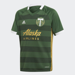 Portland Timbers Home Jersey Ponderosa / Native Yellow GE5918